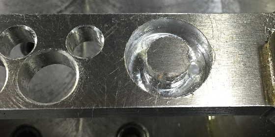 0.2mm残し加工