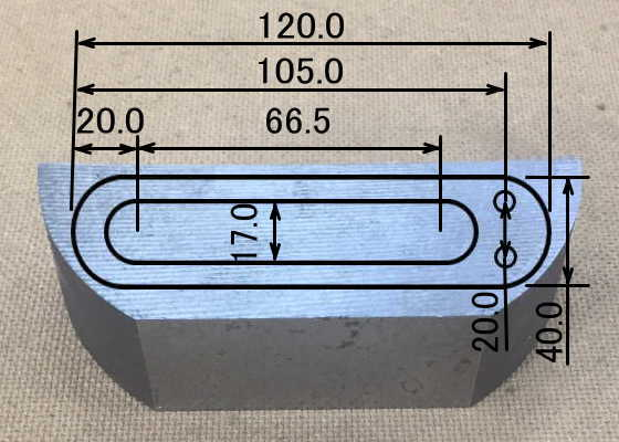 端材から形状のイメージと寸法