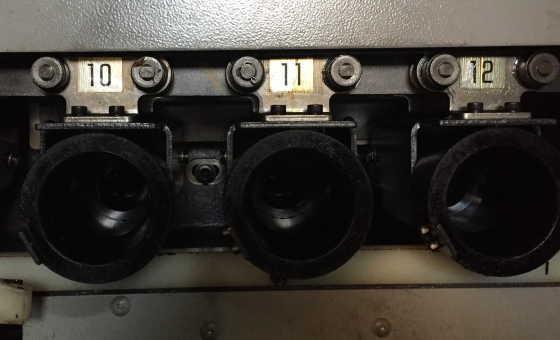 マシニングセンタのマガジンポット