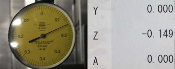 測定誤差0.001mm