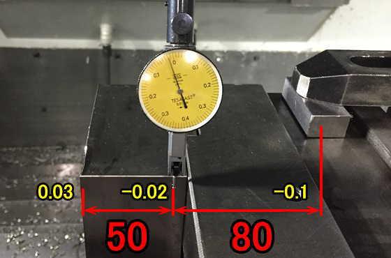 横向き二丁バイス巨利測定
