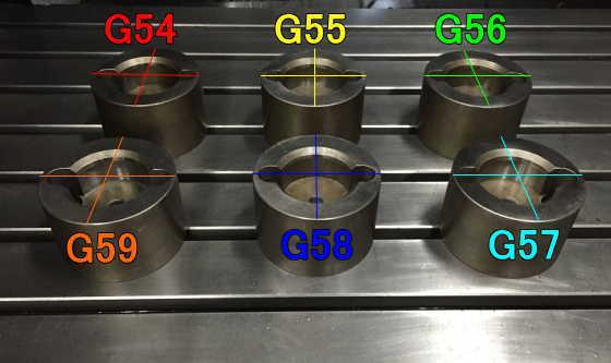 G54G55G56G57G58G59説明