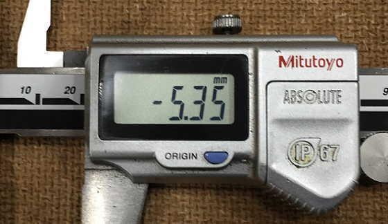 M6ポイントタップ加工寸法