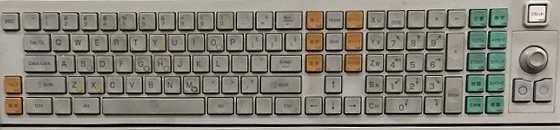 NV7000キーボード