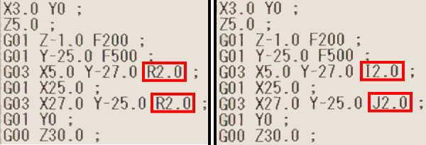 G03内側加工説明NCプログラム