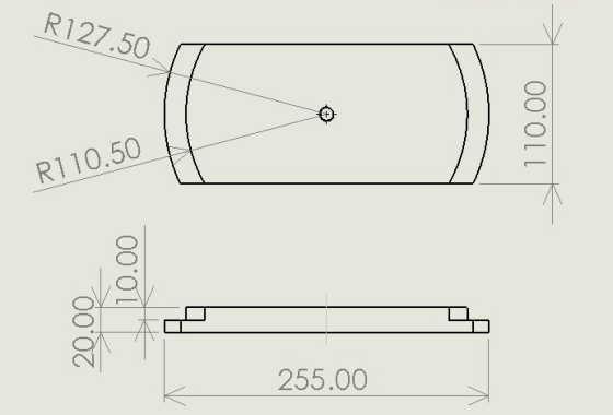 円盤製品用吊り具図面