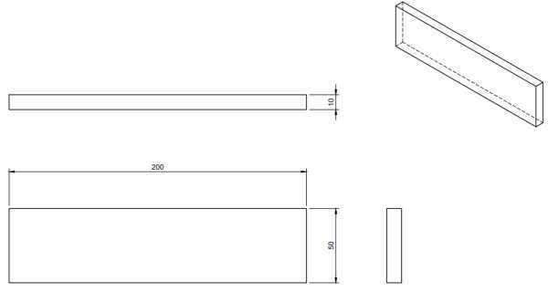 敷板、パラレルブロック、ヨウカン用図面