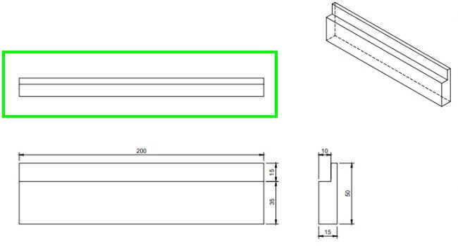 Fusion360XY平面に平面図をモデリング