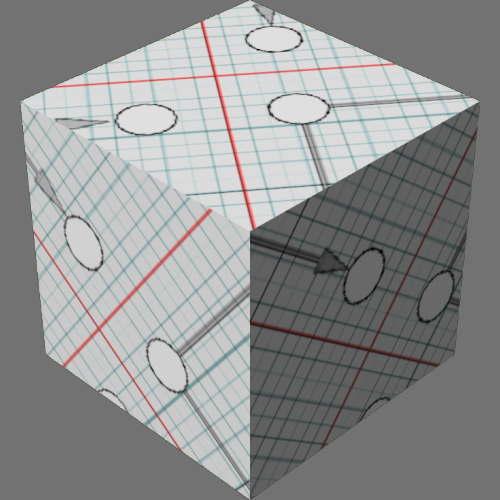 レンダリングの外観サーフェス計測済み適当に編集して適用
