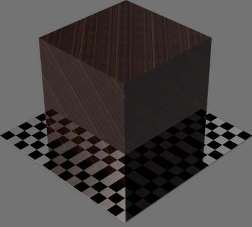レンダリングの外観竹濃い色適当に編集して適用