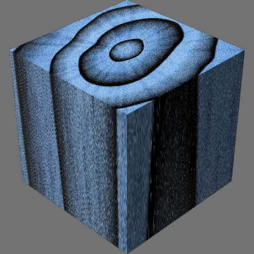 レンダリングの外観3D Ash適当に編集して適用