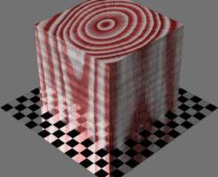 レンダリングの外観3D Curly適当に編集して適用