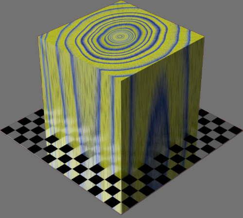 レンダリングの外観3D Mahogany適当に編集して適用