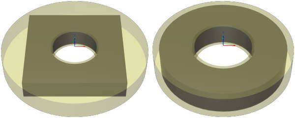 3D CAD FUSION360チューブ形状