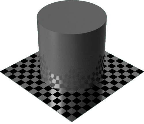 3DCADモデリングの外観をペイントのエナメル光沢円柱