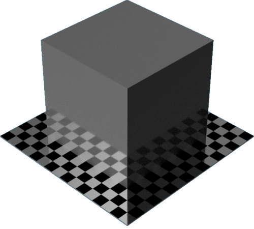 3DCADモデリングの外観をペイントのエナメル光沢直方体