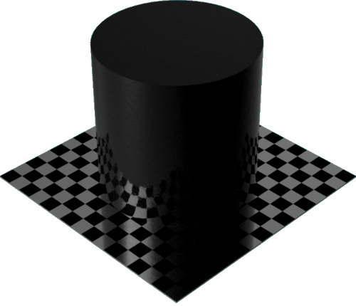 3DCADモデリングの外観をペイントのパウダーコート滑らか円柱