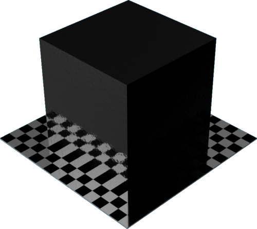 3DCADモデリングの外観をペイントのパウダーコート滑らか直方体