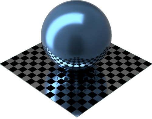 3DCADモデリングの外観をペイントのメタリックに色変更後