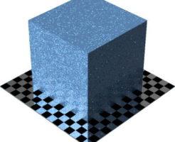 3DCADモデリングの外観をペイントのメタルフレークに色変更後2