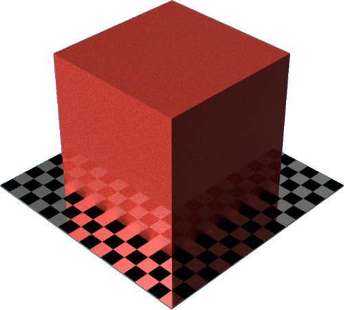 3DCADモデリングの外観をペイントのメタルフレーク直方体