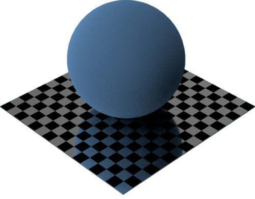 3DCADモデリングの外観をメタルのアルミニウム-つや出しに色変更後