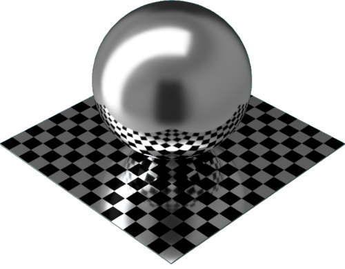 3DCADモデリングの外観をメタルのアルミニウム-つや出し球
