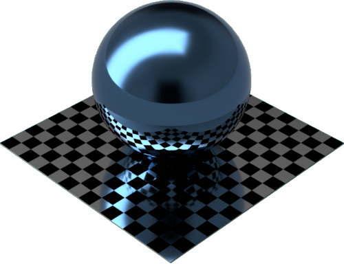 3DCADモデリングの外観をメタルのアルミニウム-サテンに色変更後