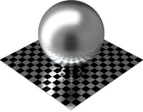 3DCADモデリングの外観をメタルのアルミニウム-サテン球