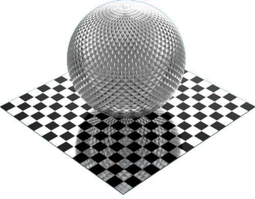 3DCADモデリングの外観をメタルのアルミニウム-ナーリング球