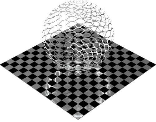 3DCADモデリングの外観をメタルのアルミニウム-メッシュ-エキスパンド粗球