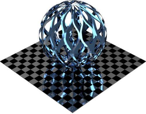 3DCADモデリングの外観をメタルのアルミニウム-メッシュ-エキスパンド 密に色変更後