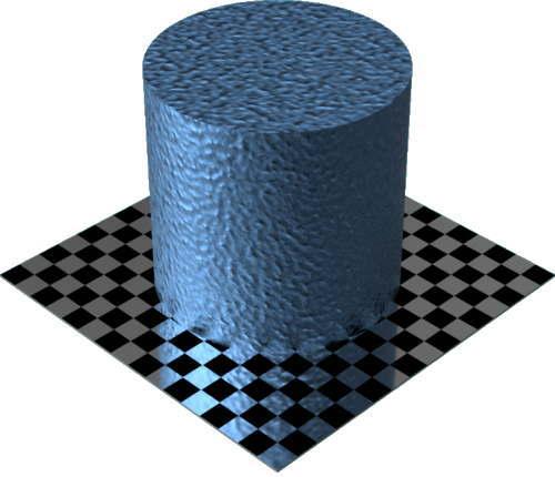 3DCADモデリングの外観をメタルのアルミニウム-鋳造に色変更後