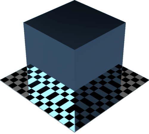 3DCADモデリングの外観をメタルのアルミニウム-陽極酸化光沢に色変更後