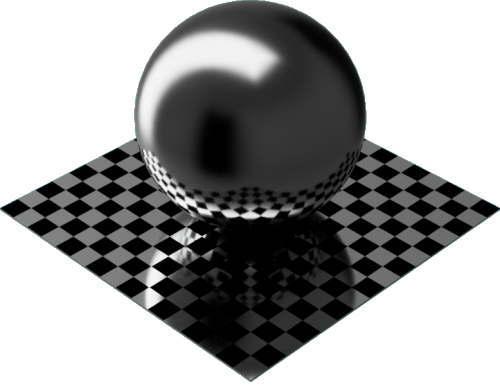 3DCADモデリングの外観をメタルのアルミニウム-陽極酸化光沢球