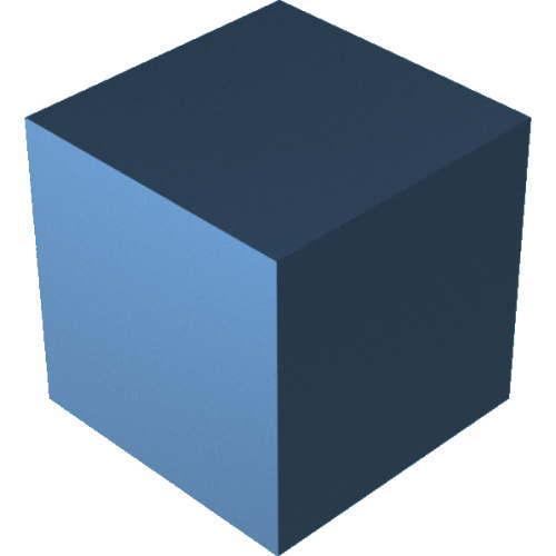 3DCADモデリングの外観をメタルのアルミニウム-陽極酸化粗いに色変更後