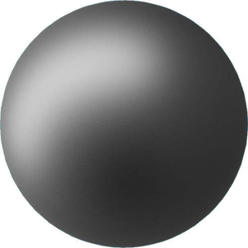 3DCADモデリングの外観をメタルのアルミニウム-陽極酸化粗い球