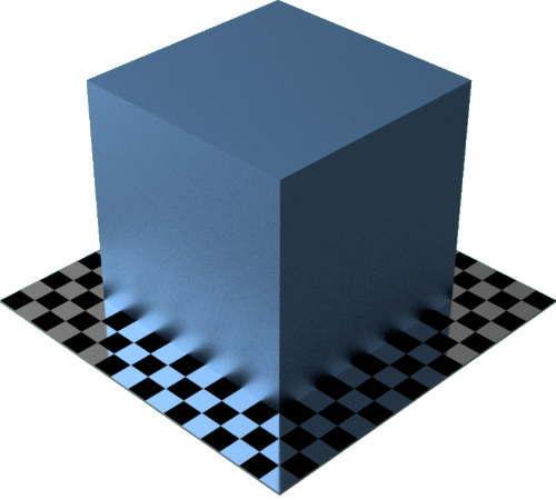 3DCADモデリングの外観をメタルのクロムに色変更後