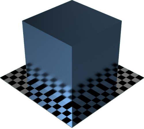 3DCADモデリングの外観をメタルのコーティングに色変更後