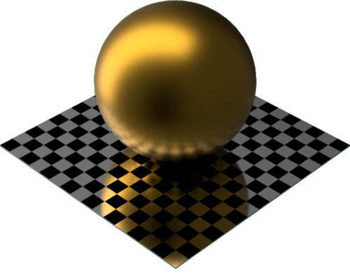 3DCADモデリングの外観をメタルのコーティング球