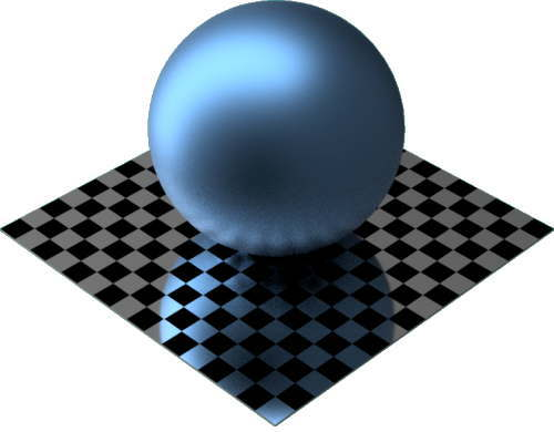 3DCADモデリングの外観をメタルのパラジウムに色変更後