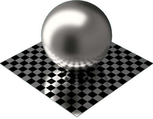 3DCADモデリングの外観をメタルのパラジウム球