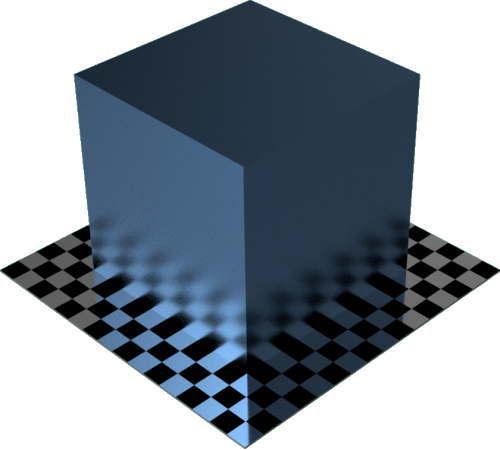 3DCADモデリングの外観をメタルのブロンズ色変更後