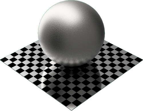 3DCADモデリングの外観をメタルの鉄-鋳鉄球