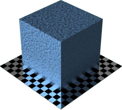 3DCADモデリングの外観をメタルの鉄-鋳鉄色変更後