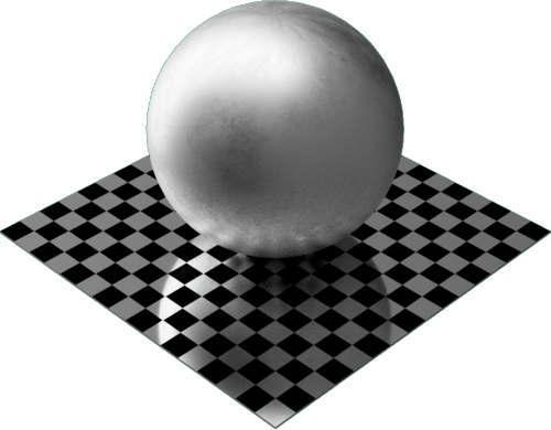 3DCADモデリングの外観をメタルの鉛球