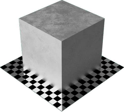3DCADモデリングの外観をメタルの鉛直方体
