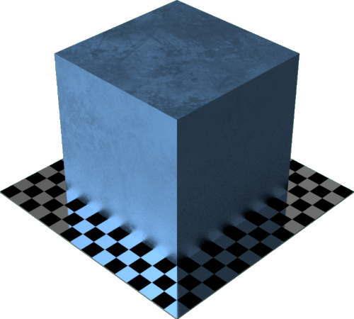 3DCADモデリングの外観をメタルの鉛色変更後