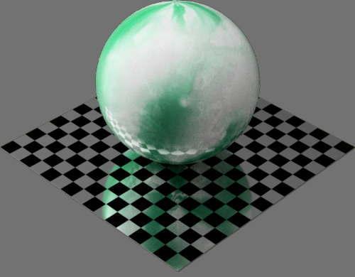 fudsion360レンダリングのひすい球