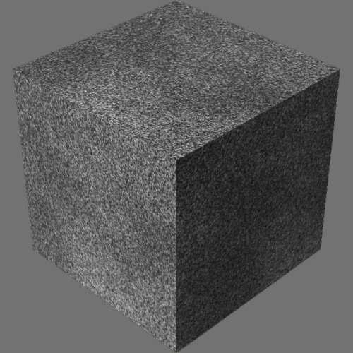 fudsion360レンダリングのアスファルト直方体